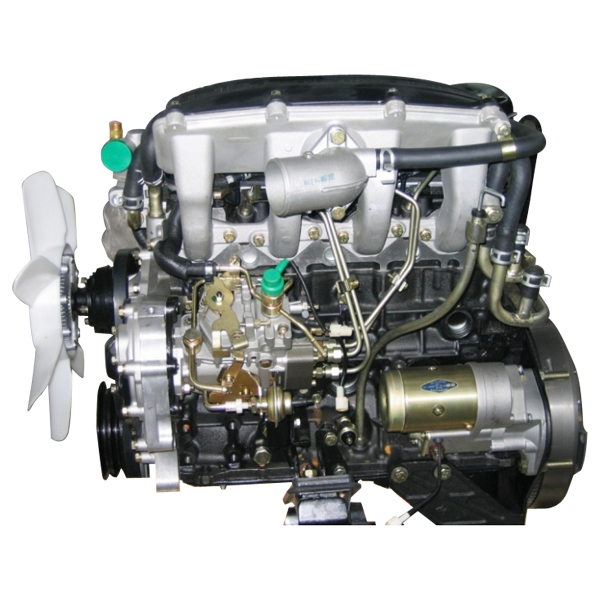 isuzu-4jb1-accomplissent-le-moteur